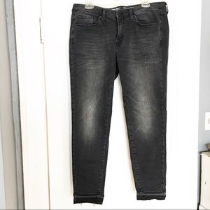 Mossimo Mid Rise Skinny Black Jeans